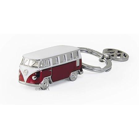Welly 10077878 Schlüsselanhänger Vw T1 Fahrzeug Rot Weiß Spielzeug