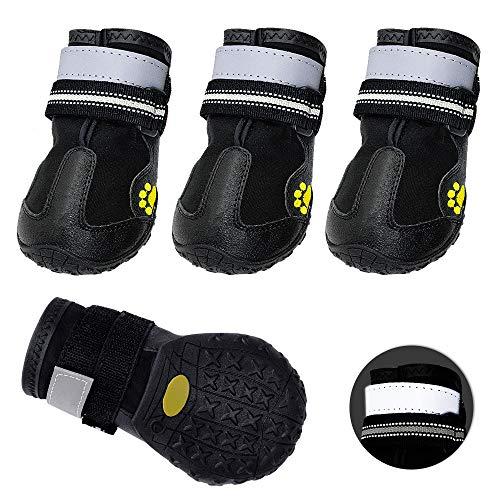 Didog Waterproof Dog Boots Shoes