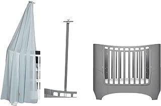 Matratze Miniwiege 2 Protektoren mit Rei/ßverschluss Kissen KOMPLETT MINICUNA Lieferumfang: Abnehmbare Bettdecke mit F/üllung 4 Rollen mit Bremse grau
