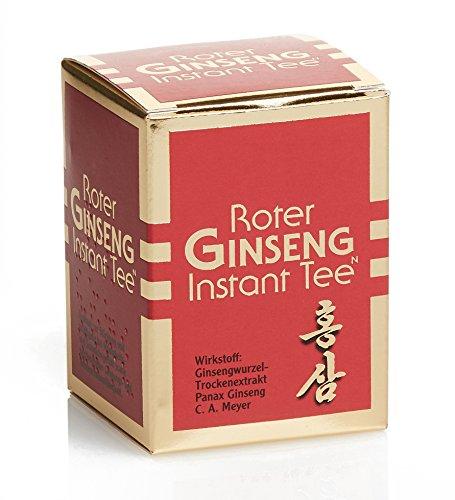 Ginseng Rojo Puro Coreano - 50g Té Instantáneo N