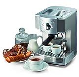 Ariete Minuetto Professional - Cafetera Expresso, 1100 W, color plata