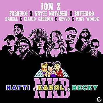 Natti, Karol, Becky (feat. KEVVO, Brytiago, Darell, Eladio Carrión & Miky Woodz) [Remix]