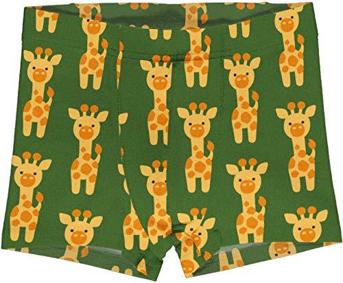 Maxomorra Jungen Unterhose Boxer Shorts Giraffe (122/128)