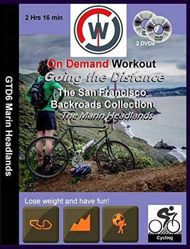 Going the Distance, The San Francisco Backroads Collection, The Marin Headlands - Virtual Indoor Cycling Training / Spinning Fitness and Weight Loss Videos