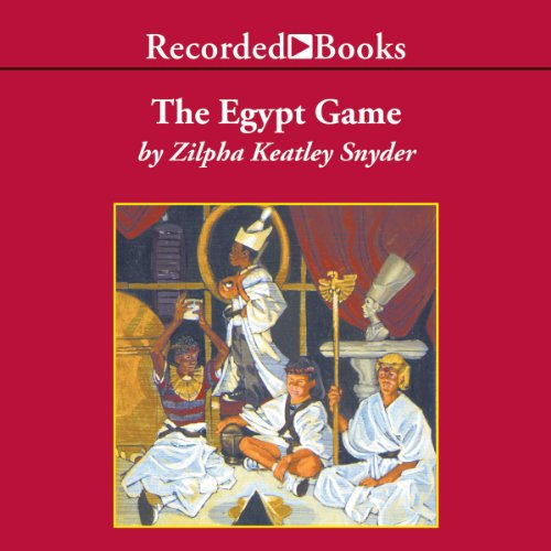The Egypt Game audiobook cover art