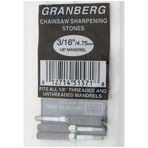 Granberg Threaded Grinding Stones - 3/16In. Width, 3-Pc. Set