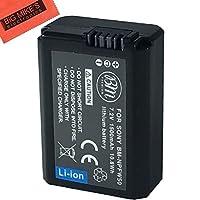 NP-FW50 Battery for Sony DSC-RX10/B, DSC-RX10 II, DSC-RX10 III, Alpha 7, A7, A7R, A7R II, A7RII, A7S, A7S II, A7II, A3000, A5000, A5100, A6000, A6300, NEX-5, NEX-5K, NEX-5N, NEX-5T, NEX-6, NEX-7, ILCE-QX1 Digital Camera Battery