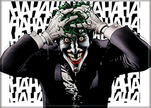 Ata-Boy Ímã para geladeira e armários DC Comics The Killing Joke 6,35 x 8,88 cm