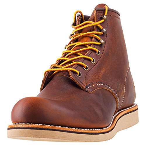 "Red Wing Heritage 6"" Rover Round Toe Copper Rough and Tough 10.5"