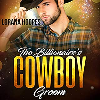 The Billionaire's Cowboy Groom audiobook cover art