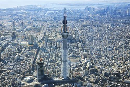 10-1235 (50cm x 75cm, corresponding panel No.10) overlooking the (R) 1000 Piece Tokyo Bay Tokyo Sky Tree (japan import)