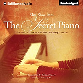 The Secret Piano audiobook cover art