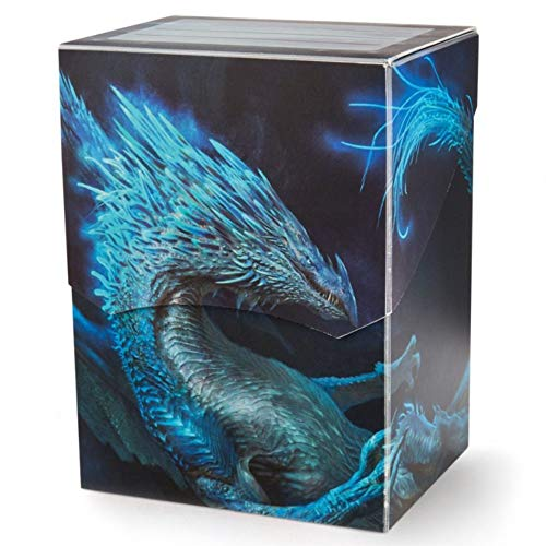 Arcane Tinmen Dragon Shield Deck Shell - Art - Botan - Night Blue #31642