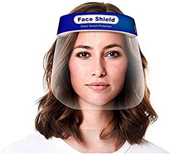 5-Pack True Snap Reusable Transparent Full Face Safety Cover