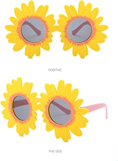 Toddler Kids Girl Boy Vintage Flower Round Anti-UV...