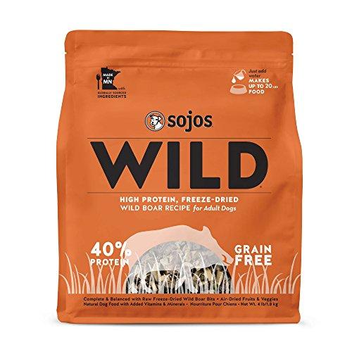 Sojos Wild Wild Boar Recipe Freeze-Dried Raw Dog Food