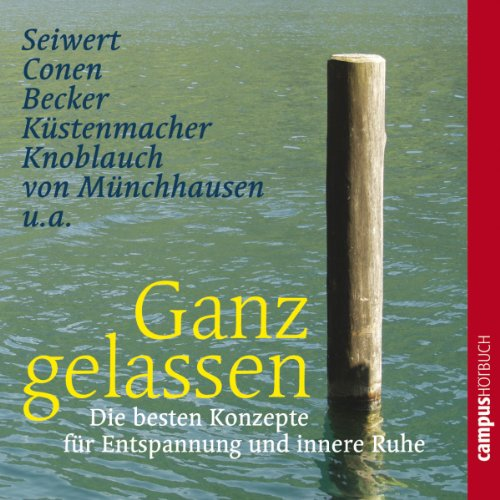 Ganz gelassen audiobook cover art