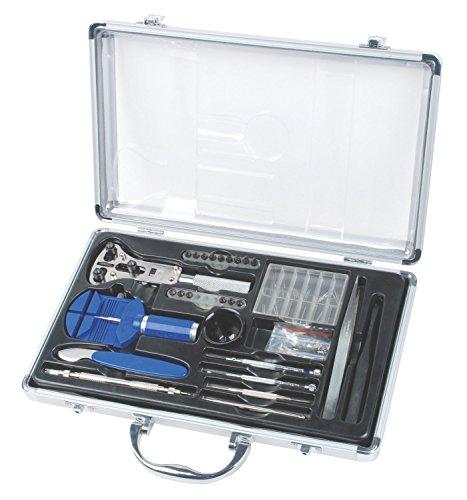 Werkzeugset für Uhrmacher, in Koffer aus Aluminium [Version: X8.3] von DeliaWinterfel