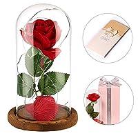★ regalo per mamma compleanno per nonna Mamma Ideale della casa. Inoltre è un ottimo regalo per San Valentino, anniversari, matrimoni, compleanni, ★ REGALO PERFETTO PER OGNI OCCASIONE: Rose, come simbolo di amore, ideale non solo per i regali ai tuoi...