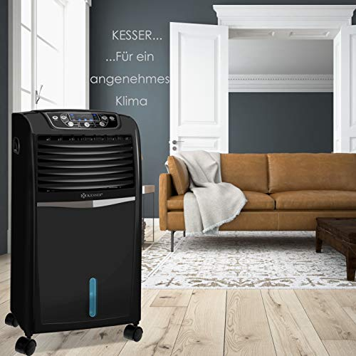 Mobile Klimaanlage 8 L Wasser/Eis Tank Ionisator Luftbefeuchter Bild 5*