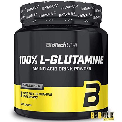 Biotech USA 100% L-Glutamin – 240g Dose - 2