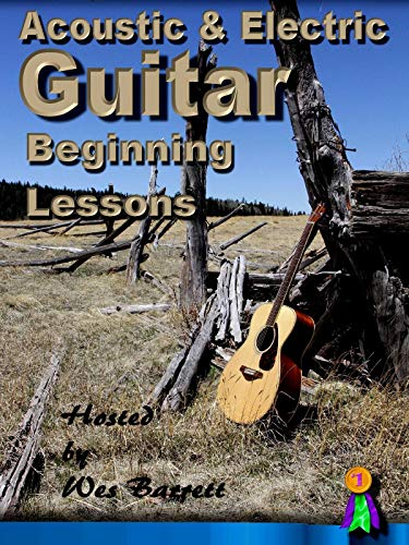 Acoustic & Electric Guitar Beginning Lessons