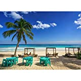 CHANGJIU Rompecabezas para Adultos 1000 Piezas-Meico Coast Sky This Hip Hotel Tulum Quintana Roo (75 * 50cm)