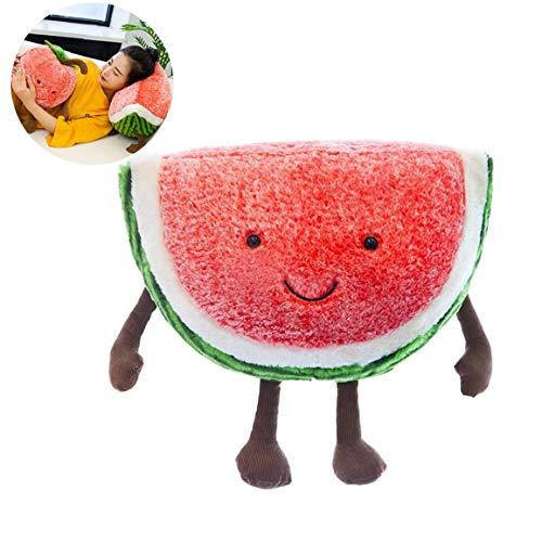 GGOOD 1pc Entzückende Plüschtier Watermelon Plüsch-Kissen-kreative Design-dekokissen Geburtstags-Kind-Geschenk-hauptdekoration