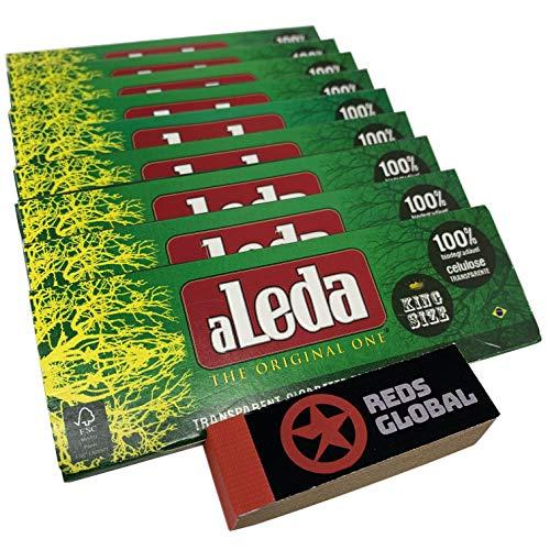 Aleda Transparent Cigarette Paper (10 Pack King Size)
