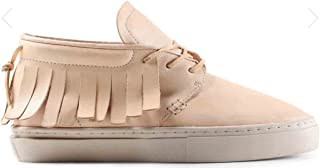 undyed leather shoes