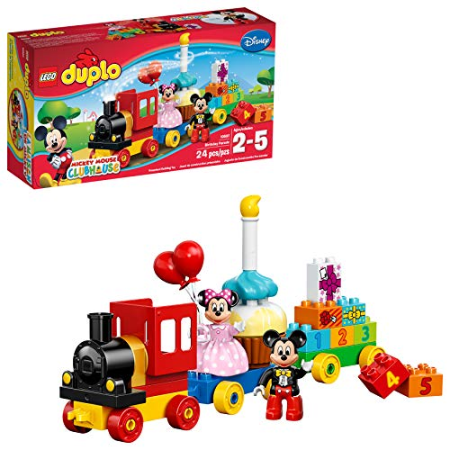 Lego Duplo Disney Mickey Mouse Clubhouse Mickey & Minnie Birthday Parade Set For $10.55 From Amazon