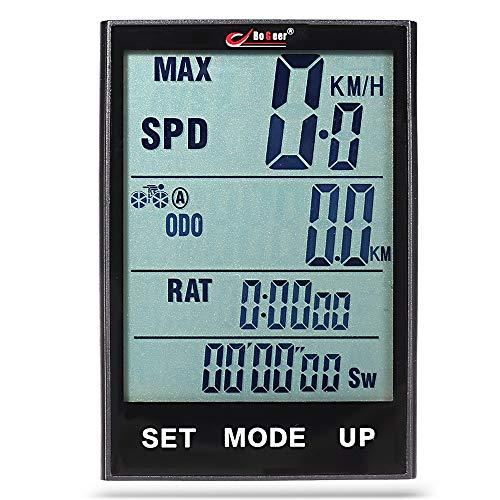 WAZA 318 Fahrradcomputer ODO - Kilometerzähler Kilometerzähler Neuester Kilometerzählerwert Rennrad Geländerad Freizeit-Radfahren Radsport