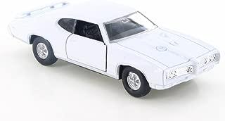 Welly 1969 Pontiac GTO, White 43714D - 4.5