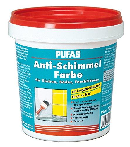 Pufas Anti-Schimmel-Farbe 0,750 L