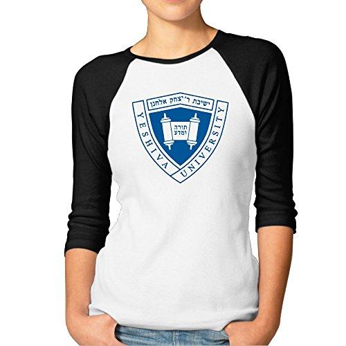 ouidtk Logo Yeshiva Universidad de las mujeres mitad manga camisetas