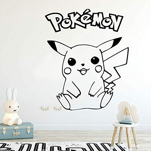 Cartoon pet monster wall stickers home decoration kindergarten kids room vinyl room decoration decals 42X34cm