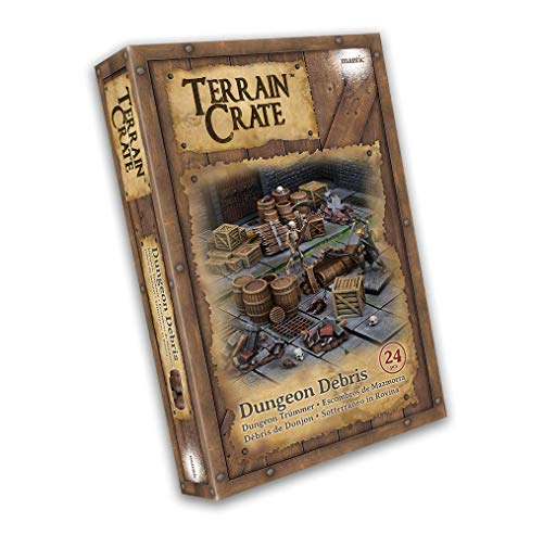 Mantic Games MGTC108 TerrainCrate: Dungeon Debris,...