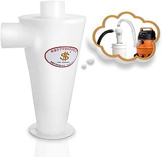 Sailnovo Colector de polvo Extractor de polvo Separador Ciclónico Filtro Ciclón Recolección de Polvo para Aspirador (Blanco)