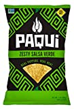 Paqui Tortilla Chips, Gluten Free Snacks, Non-GMO, Zesty Salsa Verde, (5 Count) (7 Ounce) Grocery...