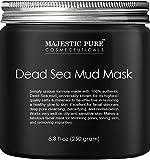 Majestic Pure Cosmeceuticals Dead Sea Mud Mask - Mascarilla (8,8 onzas fluidas/250 g)