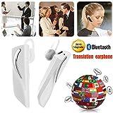 JINLO Voz En Tiempo Real Wireless Bluetooth Headset Auriculares Traductores 28 Idiomas Traducción Al...