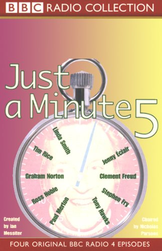 Just a Minute 5 audiobook cover art