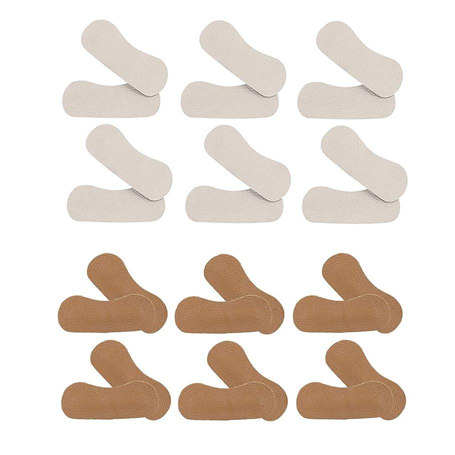 限りなく懲戒間違い12ペア かかとパッド ヒールパッド ハイヒール ビジネスシューズ 靴ずれ防止 靴擦れ 痛み軽減