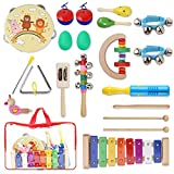 YISSVIC Juguetes de Instrumentos Musicales para Niños 20 Pzas,...