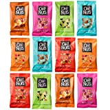 Oh! Nuts Trail Mix Snack Pack - Dried Fruits, Berries, Salted and Unsalted Nuts - Healthy Meals for Office, Travel, School, Hiking - Rich in Protein, Antioxidants - Assorted Box of 12 Individual Bags
