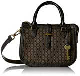 Fossil Ryder Mini Satchel Black/Brown