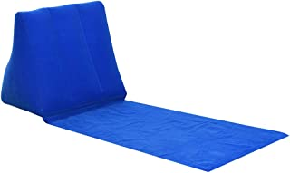 MagiDeal Inflating Beach Camping Lounger Pillow Cushion Chair Air Bed - 5 Colors