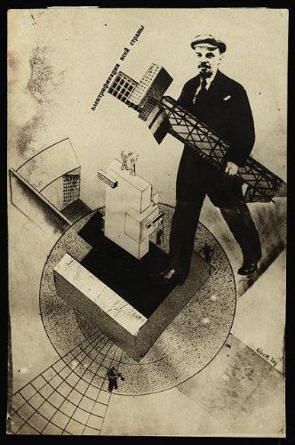 Foto: electrificación de todo el país, vida soviética, 1920. Tamaño: 8x 10(aproximadamente)