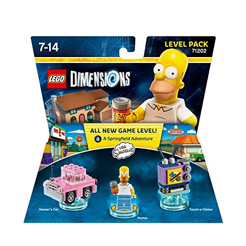 LEGO Dimensions Level Pack Simpsons - Juegos de construcción, 7 año(s), 98 Pieza(s), Dibujos Animados, 14 año(s), 3 cm