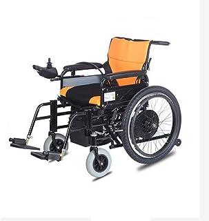 Inicio Accesorios Silla de ruedas para personas mayores con discapacidad Empuje manual eléctrico plegable ligero + Cinturón de seguridad multifunción eléctrico + Rueda antivuelco 250W / Joystick in